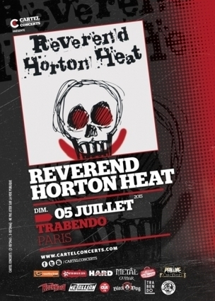 2 places à gagner pour le Reverend Horton Heat | News musique | Scoop.it