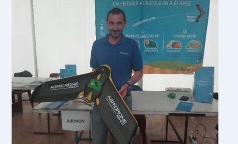 Un drone pour mieux gérer son exploitation agricole | Agriculture Aquitaine | Scoop.it