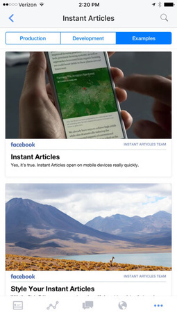How to Use Facebook Instant Articles for Business : Social Media Examiner | Facebook for Business Marketing | Scoop.it