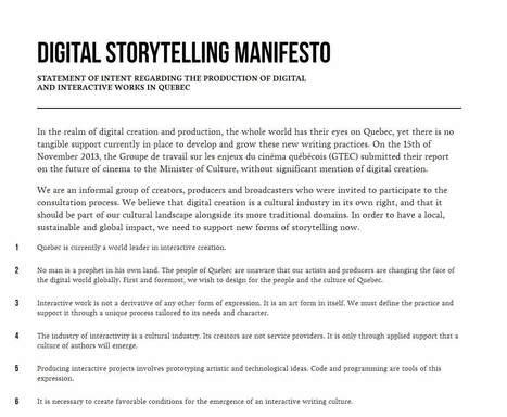 Tamed Manifestos   Documentary Evolution   Scoop.it