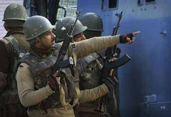 Militants, security forces exchange fire in Srinagar - The Times of India   Creiit   Scoop.it