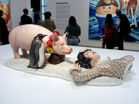 Jeff Koons: Fait D'Hiver | Art Installations, Sculpture, Contemporary Art | Scoop.it