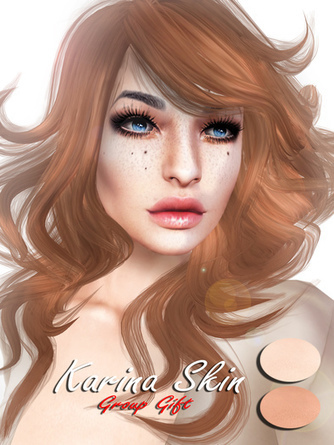 Karina Applierfriendly Skin - NessMarket | 亗 Second Life Freebies Addiction & More 亗 | Scoop.it