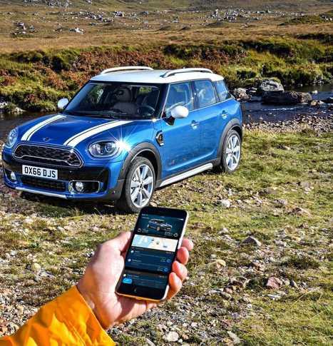 Lifestyle digital : MINI Connected s'étend avec un nouvel assistant numérique personnel de mobilité.   Mobiles Idées   Scoop.it