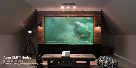 Theater Projector Screen | Projector Screens | Scoop.it