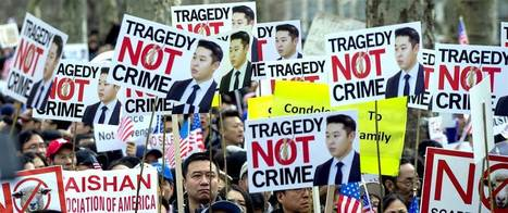 Thousands Rally After Conviction of Ex-Cop Peter Liang in Death of Akai Gurley | Business News & Finance | Scoop.it