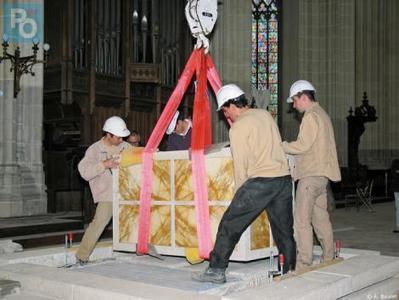 Nantes. Le nouveau choeur de la cathédrale bientôt inauguré | Cathédrale saint Pierre et saint Paul de Nantes | Scoop.it