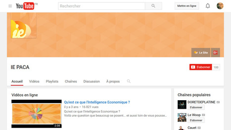 Le fil RSS caché d'une chaîne YouTube | Social media | Scoop.it