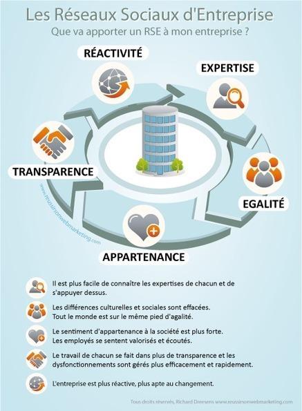Les intérêts des Réseaux Sociaux d'Entreprise (RSE) | réseau entreprise | Scoop.it