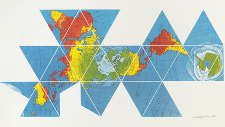 Buckminster Fuller's Dymaxion map reveals the near-contiguity of Earth's continents | Buckminster Fuller | Scoop.it