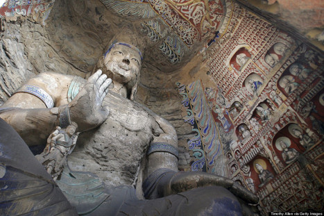 PHOTOS: Buddhist Cave Temples Will Blow Your Mind | Spirituality | Scoop.it