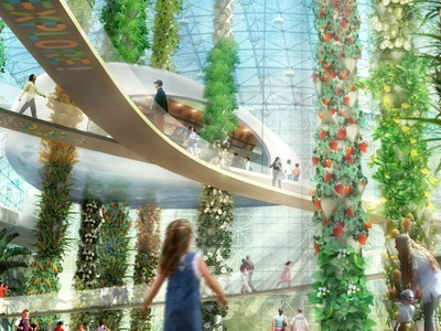 Urban Food Jungle from AECOM Offers Towers of Pineapples and More | Vertical Farm - Food Factory | Scoop.it