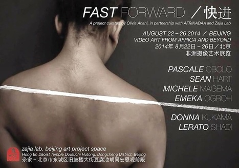 AFRIKADAA: FAST FORWARD - VIDEO ART FROM AFRICA AND BEYOND | Afro design and contemporary arts | Scoop.it