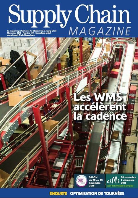 Supply Chain Magazine n°109 - novembre 2016   Infothèque BBS Brest - L'actualité des revues   Scoop.it