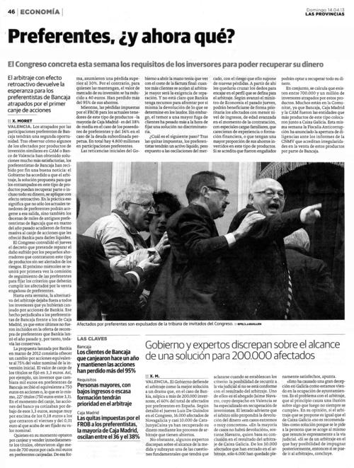 Preferentes, ¿y ahora qué? | Jaime Navarro Abogado contra Bancos