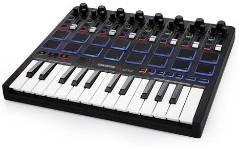 Reviewed: Reloop Keyfadr Mini-Keyboard for Ableton Live | DJing | Scoop.it