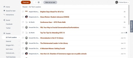 FlowReader Makes It Easy to Transfer Google Reader Subscriptions | iGeneration - 21st Century Education | Scoop.it