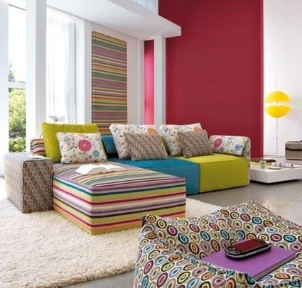 Colorful Interiors: using bold colors | PEI AUDIT | Scoop.it