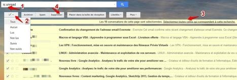Comment supprimer d'un seul coup tous les messages non lus dans Gmail   Les Infos de Ballajack   Ressources informatiques   Scoop.it