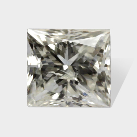 0.11 ctw 2 58 x 2 40 mm H White Color I 1 Clarity Princess Cut Real Diamond | Loose Diamonds | Scoop.it