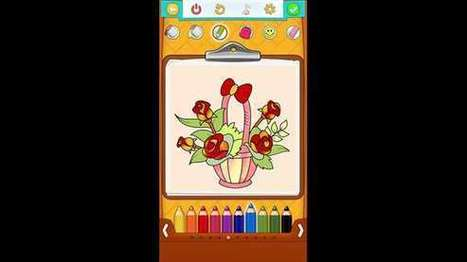 Flower Coloring Pages – Windows Apps on Microsoft Store | Windows Phone Apps and Games | Scoop.it
