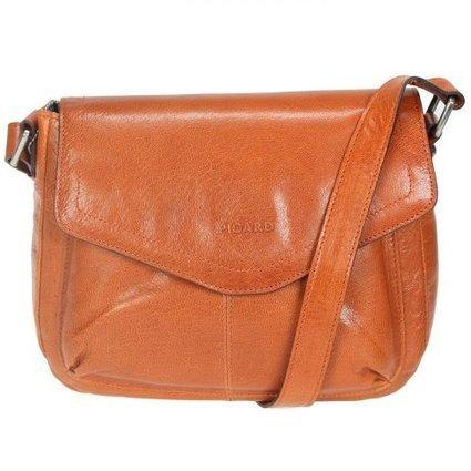 %%%   Picard Merry Umhängetasche Leder 24cm (orange) | Damen Handtaschen Günstig | Scoop.it