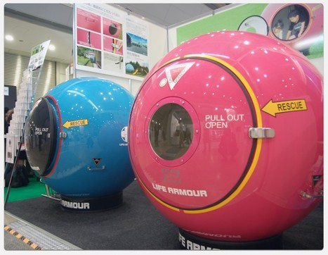 Would You Get In This Ball In Case Of Natural Disaster? | OhGizmo! | in the midst of hardship | Scoop.it