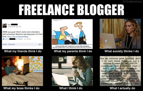 Freelance Blogger | What I really do | Scoop.it