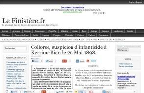 (29) Le Finistère.fr, la généalogie dans les Archives de la presse ... | Chroniques d'antan et d'ailleurs | Scoop.it
