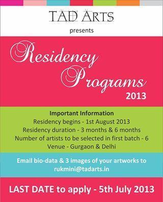 TAD Arts Residency Program 2013   seo india servic   Scoop.it