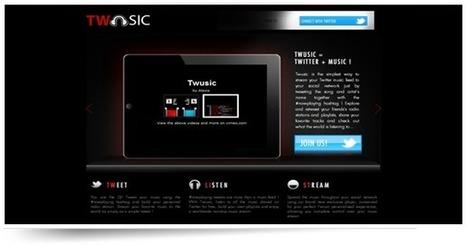 Twusic, un service de musique en ligne ultra social | Webmarketing, Medias Sociaux | Scoop.it