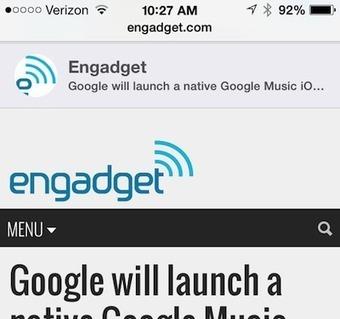 iOS 7 video tip: View tweeted links in Mobile Safari | Better teaching, more learning | Scoop.it