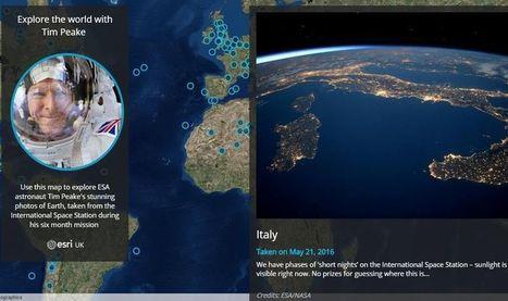 Mapa interactivo para ver la Tierra desde el Espacio | Banco de Aulas | Scoop.it