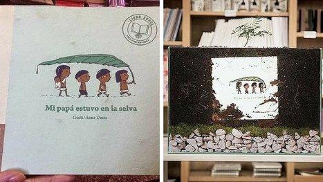 Voici le livre pour enfants qui se plante comme un arbre ! Une idée géniale qui vient d'Argentine. | CaféAnimé | Scoop.it