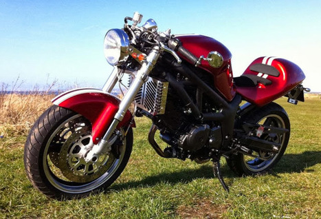 Suzuki SV 650 Cafe Racer - Grease n Gasoline | Hot news | Scoop.it