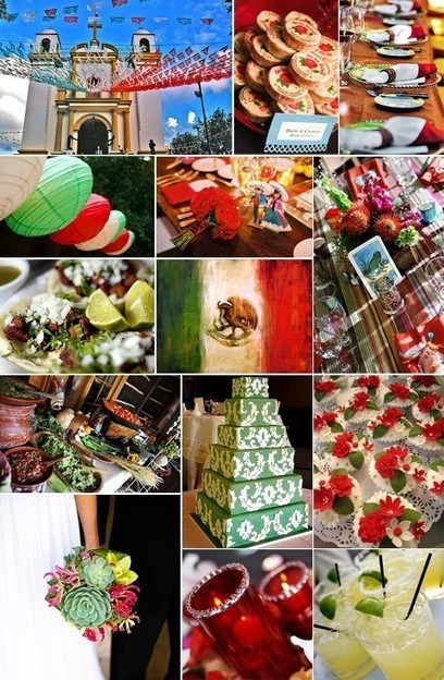 Essentials for a Mexican Wedding | mexicanismos | Scoop.it