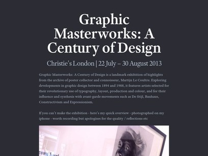 Social Posters — Checkthis | ID 100 Academic Inquiry - Designing the Digital Experience | Scoop.it