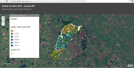 ArcGIS - Mapa de Gestão de Safra 2013 - PR   Mech   Scoop.it