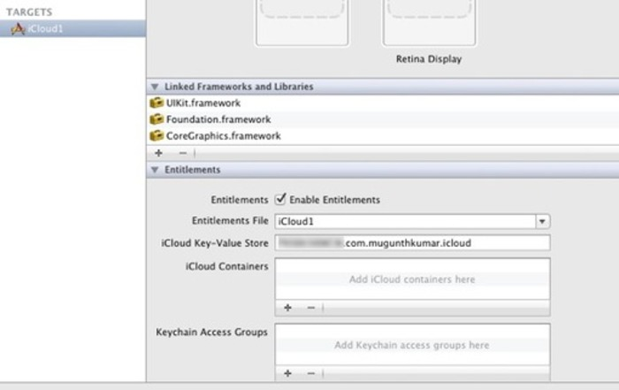 MKiCloudSync – Sync your NSUserDefaults to iCloud with a single line of code   MKBlog   iPhone and iPad development   Scoop.it