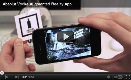 "11 Amazing Augmented Reality Ads | La ""Réalité Augmentée"" (Augmented Reality [AR]) 