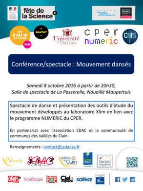 » Mouvements dansés | Espace Mendes France, Poitiers | Scoop.it