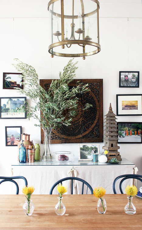 5 Inexpensive Ways to Style a Statement Wall | Designing Interiors | Scoop.it