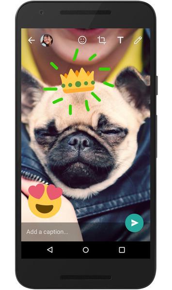 WhatsApp races to internationalize Snapchat's overlaid creativetools | Médias sociaux : Conseils, Astuces et stratégies | Scoop.it