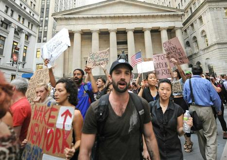 Activists at crossroads in New York protest | #ows | Scoop.it