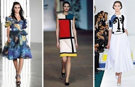 Moda inspirada en el arte | Moda | Scoop.it