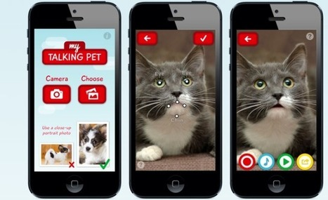 My Talking Pet, A Photo App That Lets Your Pets Do The Talking | Liquid Health News | Scoop.it