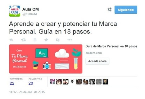 La Guía de Twitter de 2015 de Marketing Online para empresas | Información y cultura digital | Scoop.it