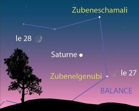 Astronomie : Saturne a rendez-vous avec la Lune | The Blog's Revue by OlivierSC | Scoop.it