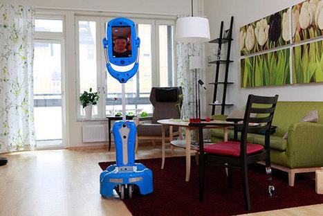 Giraff, le robot européen qui prend soin des personnes âgées | La technologie au service de la santé et du handicap | Scoop.it
