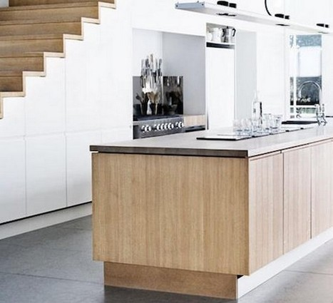 Under Stairs Kitchen Cabinets that Look Amazing | Home Designs an Decorating Ideas | Scoop.it